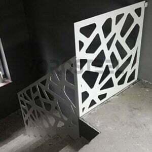 balustrady wycinane laserowo