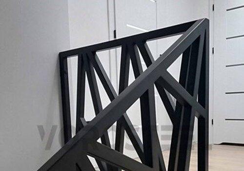 Balustrady ze stali malowanej