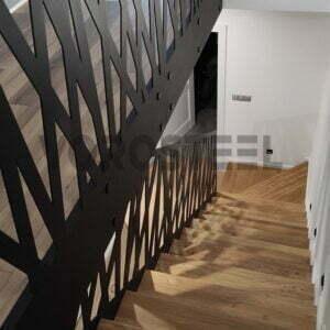 balustrady wycinane laserowo ażurowe Radom