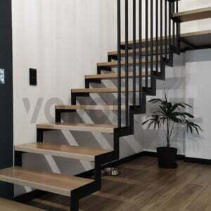 schody nowoczesne harfa
